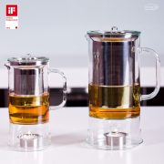 Teekanne SIGN mit integrierter Teewärmer 0.6l