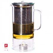 Teekanne SIGN mit integrierter Teewärmer 1.2l