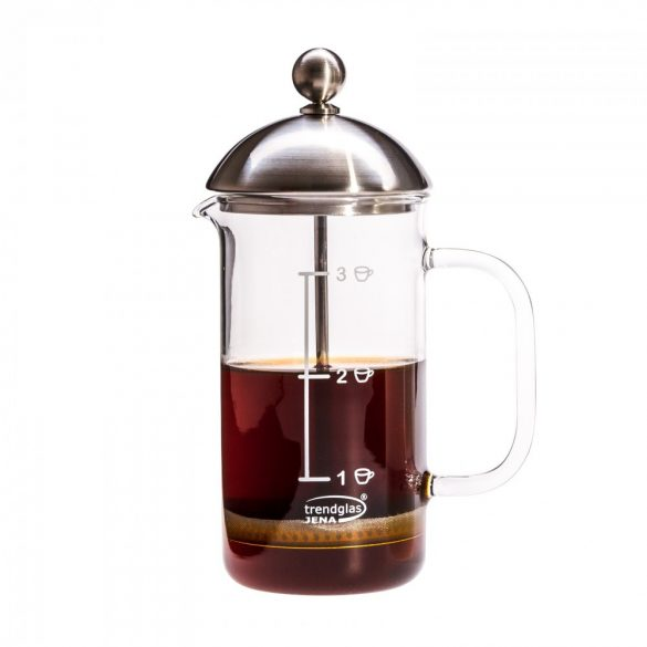 French press coffee maker – 3 cups