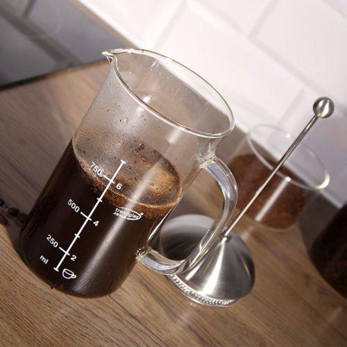 French press (kávékészítő) – 8 csészéhez