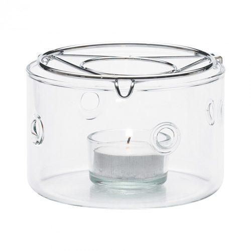 Teewärmer PRETTY TEA, mit Teelichthalter, Ø108mm