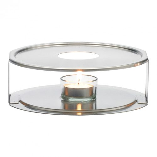 Tea warmer with candle holder, diam.:170mm
