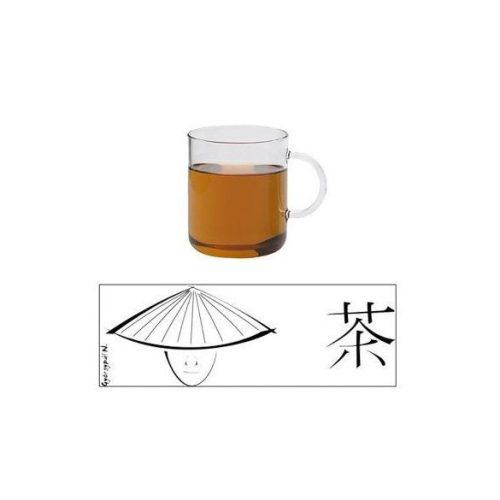 OFFICE teáscsésze - TEA - fehér, 0.4l