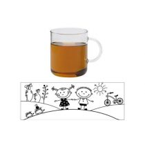 OFFICE mug - CHILD MEADOW - blue, 0,4l