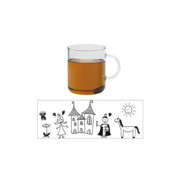 Teetasse OFFICE  - CHILD CASTLE - rot, 0.4l