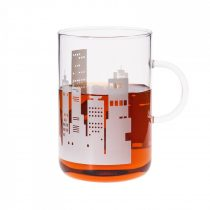 OFFICE  XL mug - CITY - white, 0.6l