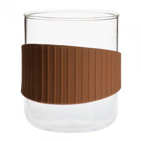 OFFICE csésze - S - barna, 0,4l