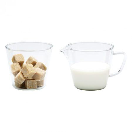 NOVA Cukor és tejszínkiöntő, 0.25l/0.25l