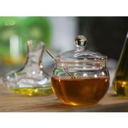 Marmeladendose mit Glasrührstäbchen, 0.25l