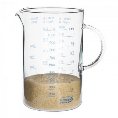 Üveg mérőedény nagy 1.0l
