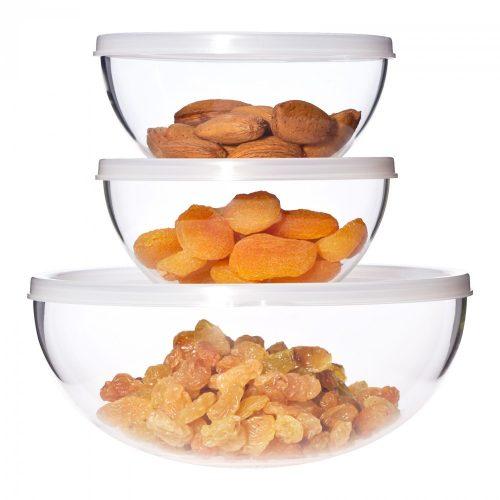 Set of bowls -6 pieces- 2x0,33l / 1,0l