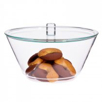 Bowl with glass lid, 1.5l