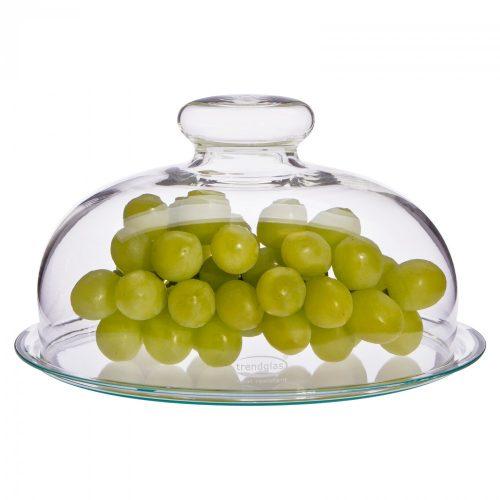 Käseglocke mit Glasteller
