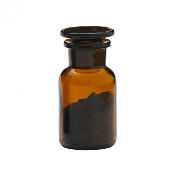 Apothekerflasche MINI - braun, 0.1l (2Stk./Karton)