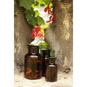 Gyógyszertári üveg közepes - barna, 0.5l (2db/doboz)