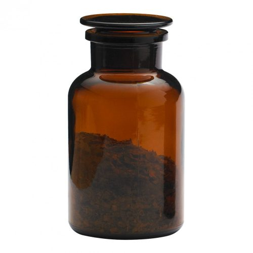 Gyógyszertári tároló nagy - barna, 1.0l (2db/doboz)