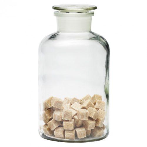 Apothecary bottle big - transparent, 2.0l