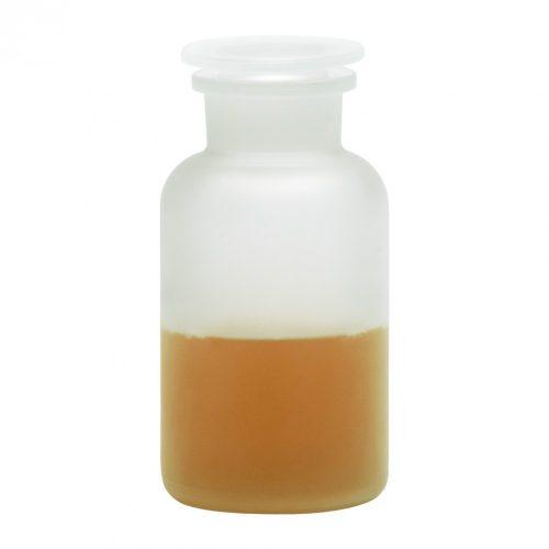 Gyógyszertári üveg közepes - matt, 0.5l (2db/dob)