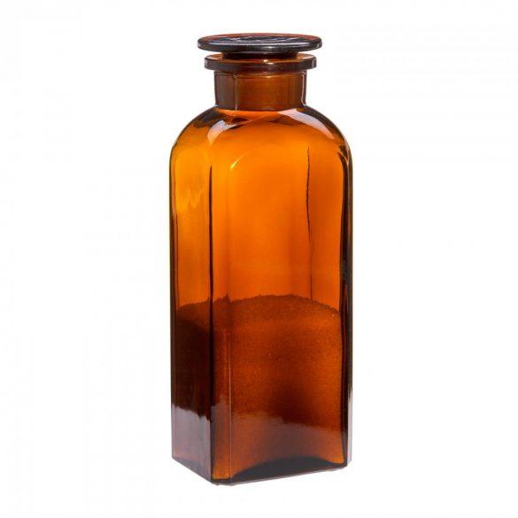 Apothekerflasche LARGE - eckig, braun, 0.8l (1Stk./Karton)