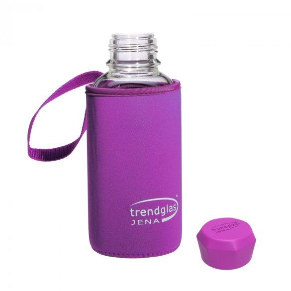 Neoprene cover for BLUE OCEAN drinking bottle 500ml - purple