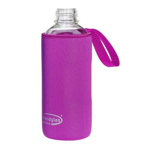 Neoprene cover for BLUE OCEAN drinking bottle 1000ml - purple