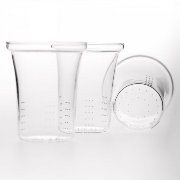 Premium glass strainer