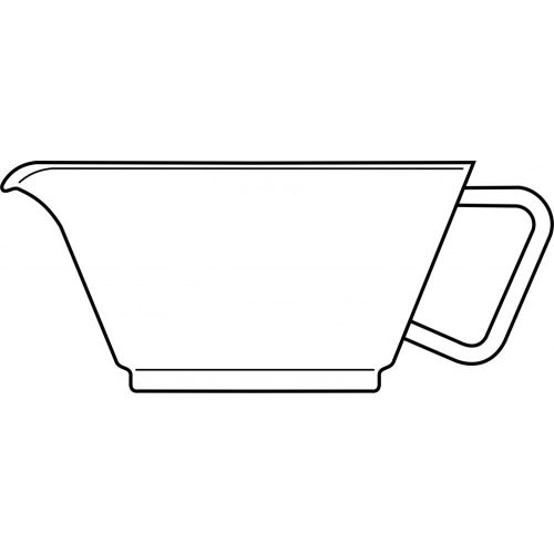 GLOBE teapot glass body
