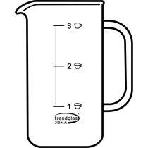 Glaskörper Kaffeebereiter, klein 0,35 l
