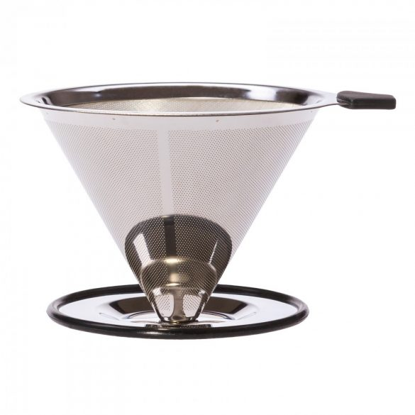 Stainless steel strainer for POUR OVER