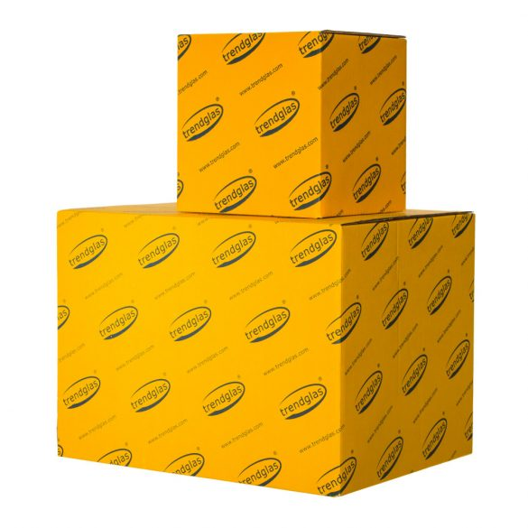 Tea glass with handle - conical, 0.2l (6pcs/box)