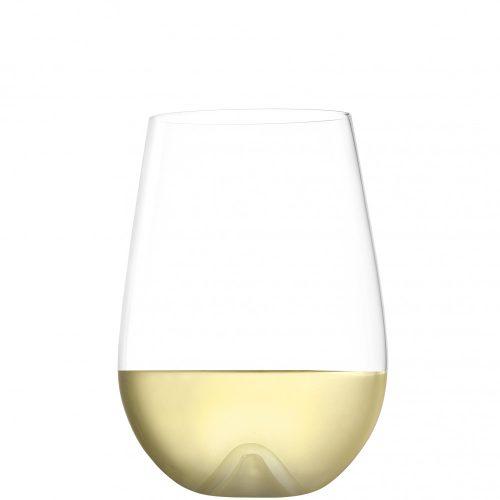 VULCANO Weinbecher aus Kristallglass small 475ml (2Stk./Karton)