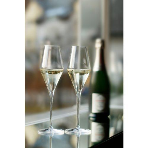 Quatrophil pezsgős pohár(6db/dob)