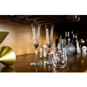 L'AMOUR Flute Champagne - satin heart (2pcs/box)