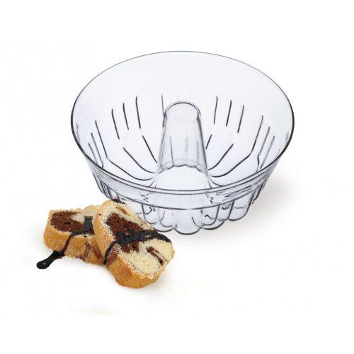 Kuglóf üveg sütőforma SIMAX 2.5l